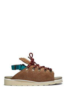 Kolor Men's Chunky Suede Hiking Sandals In Brown Best Hiking Shoes, Hiking Sandals, Hiking Boots, Top Shoes, Men's Shoes, Shoe Boots, Best Shoes Online, Designer Sandals, Latest Shoes