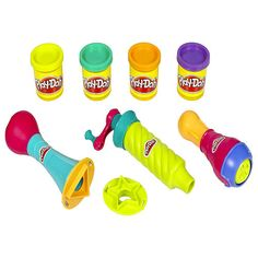 "Play-Doh Super Tools Set - Dial 'n Stamper, Twirl 'n Twister and Squeeze 'n Popper -  Hasbro - Toys""R""Us"