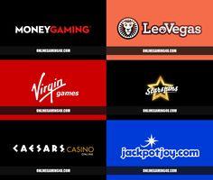 New online casino brands for 2017 #casino #logos