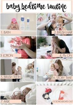 A Night Time/Bedtime Routine easy, flexible baby bedtime routine to get them used to nighttime, consistency is key! // baby skin care routine // baby night time routine // easy, nightly routine for toddlers. Bedtime Routine Baby, Baby Bedtime, Toddler Routine, Baby Skin Care, Baby Care, Parenting Tips, Kids And Parenting, Practical Parenting, Bebe Love