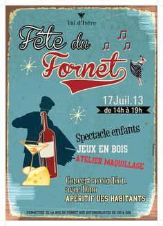 Le Fornet - Val d'Isère hamlet party 2013