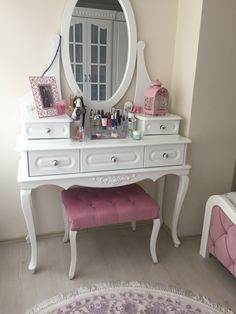 Shop Wayfair for A Zillion Things Home across all styles and budgets. brands of furniture, lighting, cookware, and Black Bedroom Design, Home Room Design, Girl Room, Girls Bedroom, Bedroom Decor, Cute Furniture, Bedroom Accessories, My New Room, Decoration