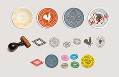 Sissy's Southern Kitchen by Tractorbeam , via Behance
