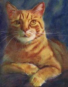 Rachel's Studio Blog: For Orange Tabby Cat Lovers...