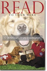 Two heroes who read together are search-and-rescue volunteers Linda Cardell, an emergency medical technician, and her 5-year-old golden retriever, Kobie. The two work for West Jersey K9 Search and Rescue, an organization that uses highly trained dog/handler teams to find lost or missing people; in 2005, the team traveled to Mississippi to help with the Hurricane Katrina recovery effort.