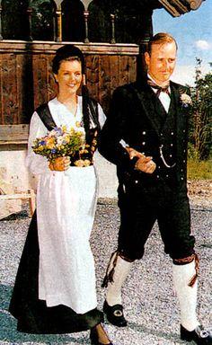 Alexander Ferner, son of Princess Astrid of Norway, and Margret Gudmundsdottir wedding, 1996.