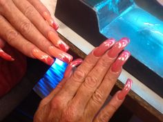 UV Lamp makes the nails turn Colours like in the Sun ....  SUN CHASERS ... ORDER NOW From  Angel Love Nails Call - 435-635-4470 angellovegelnails.com