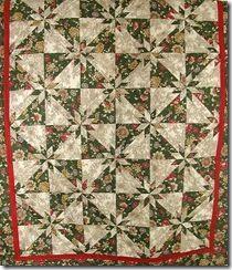 Hunter's Star Lap Quilt-Fabrics N Quilts