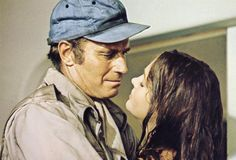 Charlton Heston with Leigh Taylor-Young in Soylent Green Epic Film, Film Movie, Soylent Green, The Truman Show, Young Frankenstein, Days Of Future Past, Sci Fi Films, Bojack Horseman, True Detective