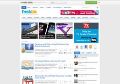 Freshlife WordPress Theme is an another #WordPresstheme from #themejunkie #fthemes http://www.fthemes.net/freshlife-wordpress-theme/#ixzz2cTvosin0