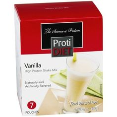 Protidet Vanilla Protein Shake -- Details can be found by clicking on the image.