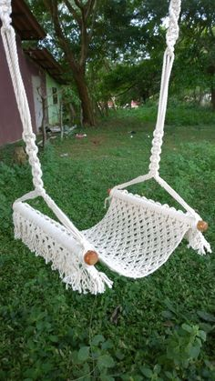 a Swing Chair en Etsy -Artículos similares a Swing Chair en Etsy -similares a Swing Chair en Etsy -Artículos similares a Swing Chair en Etsy - Garten Dekoration, häkeln Large hammock chair with crochet edge.