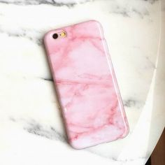 iphone 7 phone cases pink marble