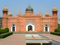 Travle Story in Bangladesh: The Lalbagh Fort