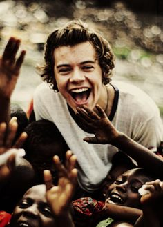 If you say the pictures of Harry in Ghana are not your faves of him.....than you're lying, and I am judging you.....