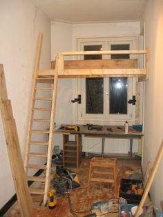 Google on pinterest - Bed kamer mezzanine ...