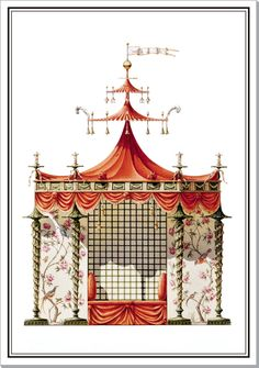 Chinese Tent Trianon project