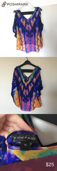 Rmpage top size M Worn only once. Looks like new! Rampage Tops Blouses