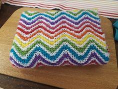 Ravelry: clair-de-lune's Rainbow Knit Blankie