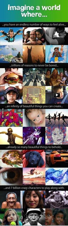 Imagine a world where...