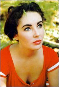 Elizabeth Taylor's eyebrows please