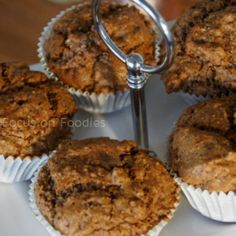Tarwevrije Spelt Speculaas Muffins