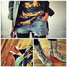 GRUNCH Shorts en invierno. Why not?  Leer Mas: http://misslittletouch.com/  #aldo, #hmchile #misslittletouch #gapsipizzoleo #fashionblog #fashionblogger #style #quemepongo #looks #tendencia #quemepongo #zara #levis #shorts #moda #chile
