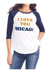 Chicago Bears Womens All-American White T-Shirt Nfl Kansas City Chiefs, Nfl Chicago Bears, Junk Food Clothing, Fashion Outfits, Womens Fashion, American, Tees, T Shirt, Football