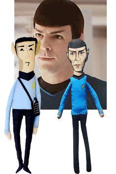 #Spock #startrek #dolls http://knuffelsalacarteblog.blogspot.nl/