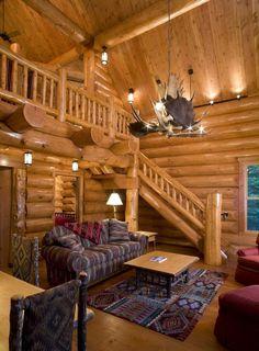 Log Cabin Patio Furniture