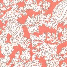 Michael Miller Fabrics's Whisper Collection, Mara, Terracotta - gather here…