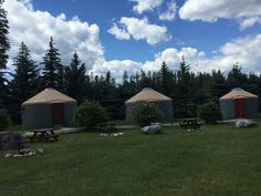 North American RV Park & Yurt Village, Coram, MT.  Click on the link for more info.  The pics you really want of the Campground for those driving a 40ft. Motorhome or 5th Wheeler. Big Rig Campgrounds.