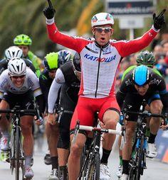 La Primavera, Milan - San Remo 2014, 1. Alexander Kristoff, 2. Fabian Cancellara, 3. Ben Swift