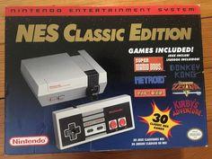 nintendo entertainment system nes classic edition white console.  hdmi included. from $95.0