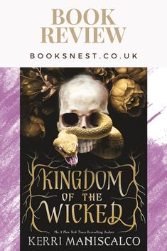 I was highly anticipating reading Kingdom of the Wicked ever since I found out the plot, I love a good mystery and this one also involved fantasy, so win-win! I can say now, I was not disappointed by this book, Maniscalco weaves an excellent story! #BookReview #BookRecommendation