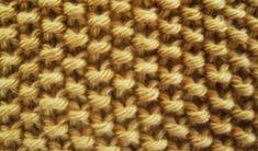 Punch Needle, Sewing, Knitting, How To Make, Tech, Knitting Patterns, Simple, Animals, Moss Stitch