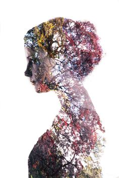 Double exposure portraits: a simple tutorial for making surrealist images.                                                                                                                                                                                 More
