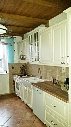 Kuchyně ve venkovském stylu Decor, Home, Kitchen Cabinets, Cabinet, Kitchen