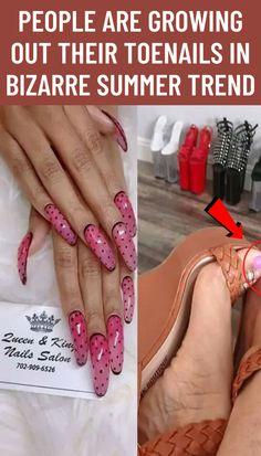 #People #growing #out #toenails #bizarre #summer #trend
