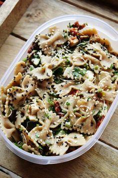 3 pomysły na lunchbox - zdrowe sałatki #1 | Tysia Gotuje blog kulinarny