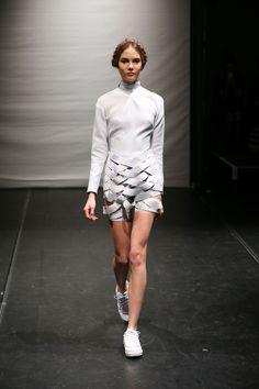 Francesca Capper Graduate Collection Image via Francesca Capper. Normcore, Long Sleeve, Tape, Sleeves, Designers, Collection, Future, Women, Fashion