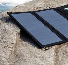 A solar-powered phone charger that actually works plus other beach must-haves Solar Powered Phone Charger, Solar Charger, Solar Energy Panels, Solar Panels, Windows Registry, Beach Trip, Ipad Pro, Galaxy S7, 6s Plus