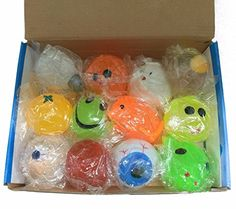 Squishy Splat Ball Assortment Pack 1 Dozen for sale online Baby Doll Nursery, Baby Dolls, Toys For Boys, Kids Toys, Splat Balls, Balle Anti Stress, Nightmare Before Christmas Decorations, Stress Toys, Cute Cupcakes