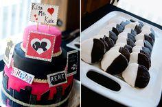 Broadway Musical Cake, Black and White Cookies,  #SociaLife #Broadway #KissMeKate