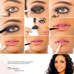 Evidencie seus olhos com esse look super fácil de fazer. http://www.adoromaquiagem.com.br/dicas-maquiagem/novidades-tendencias/olhos-em-destaque/15942/ #maquiagem #dica #look