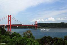 ストックフォト : Hirado Bridge, Hirado City, Nagasaki, Japan