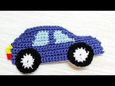 How To Make A Crocheted Car Applique – DIY Crafts Tutorial – Guidecentral. Guide… How To Make A Crocheted Car Applique – DIY Crafts Tutorial – Guidecentral. Guidecentral is a fun and visual way to discover DIY ideas learn new … Crochet Car, Crochet Motif, Crochet For Kids, Crochet Crafts, Crochet Toys, Free Crochet, Crochet Projects, Crochet Patterns, Crochet Flowers