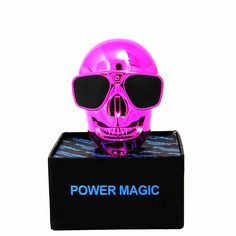 New Creative 8800mah electroplating Skull power bank universal portable battery charger. High quality and reliable battery life. Perfect for outdoors and traveling. Don't miss out on the coolest power bank! BUY NOW at #roofcart