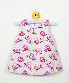 Owl summer kids dress baby girl dress