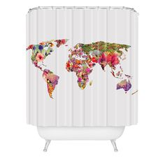 Bianca Green Its Your World Shower Curtain | DENY Designs Home Accessories